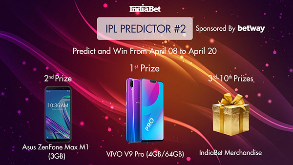 ICC Cricket World Cup 2019 Prediction Competition 2 - Win Prizes