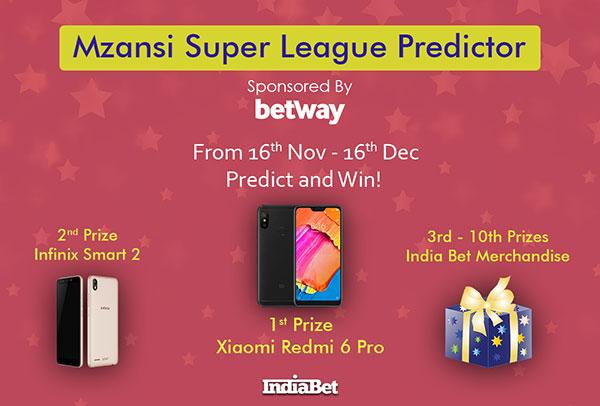 Mzansi Super League 2018 Prediction Competition - Win Prizes